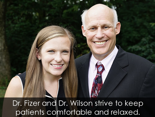 Sedation Dentistry with Dr. Fizer and Dr. Wilson in Lousiville KY